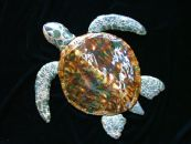 "24"" CERAMIC SEA TURTLE"